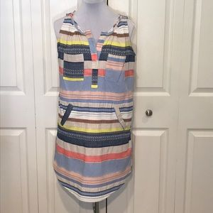 Chelsea & Theodore Cotton Casual Dress